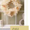 Glitter Mesh Dollar Store Fall Wreath