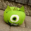 Mike Wazowski No Carve Pumpkin