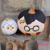 No Carve Harry Potter & Hedwig Pumpkins