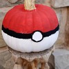 Poké Ball  No Carve Pumpkin