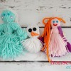 How To Make a Yarn Doll (Frozen Yarn Dolls)