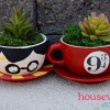 Harry Potter Tea Cup Planters