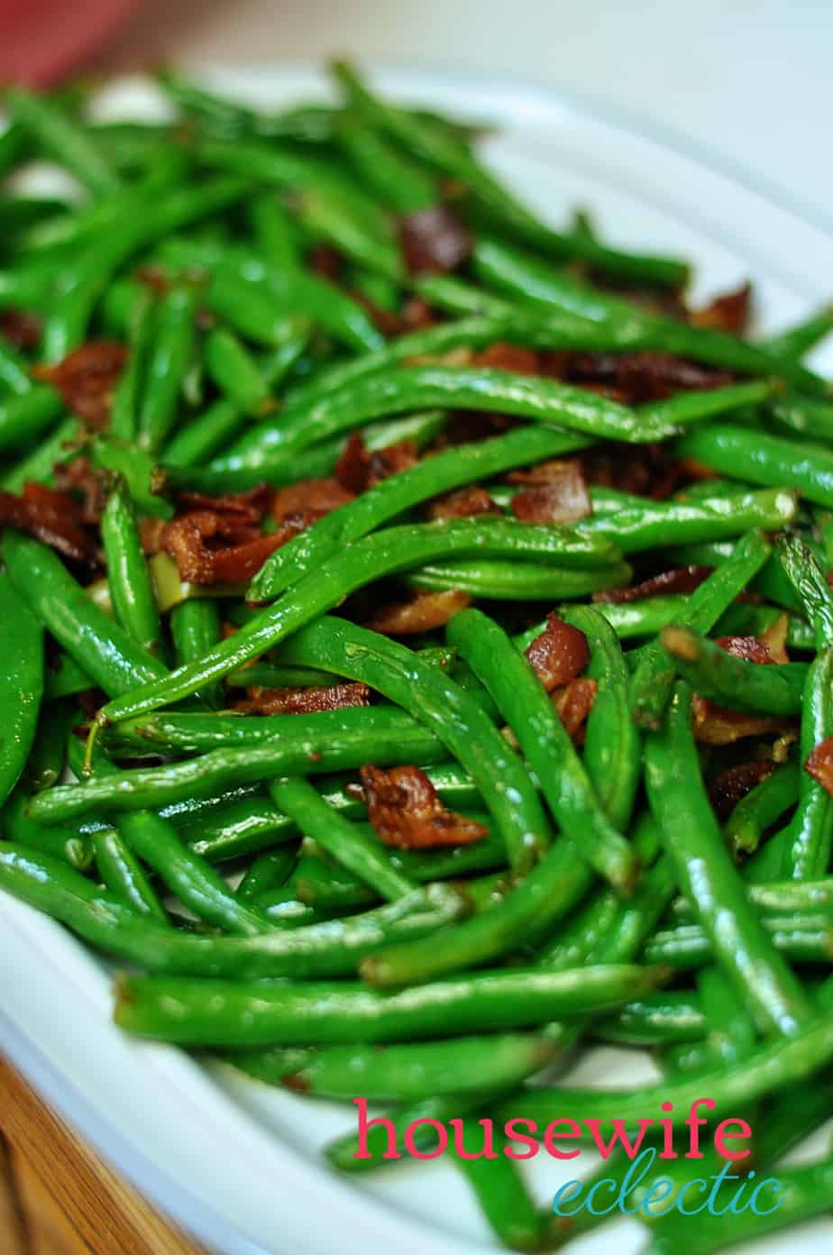 Housewife Eclectic: Green Beans and Bacon
