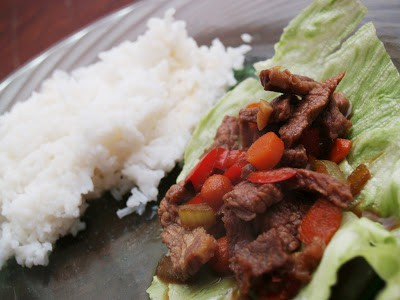 Tasty Tuesdays- Oriental Lettuce Wraps