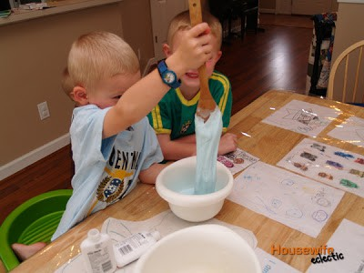 Flubber without chemicals