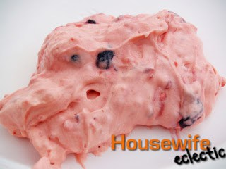 Tasty Tuesdays- Raspberry Cream Jello