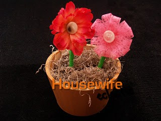 Tutorial Flower Pens and Pot- Stashbusting Craft #3