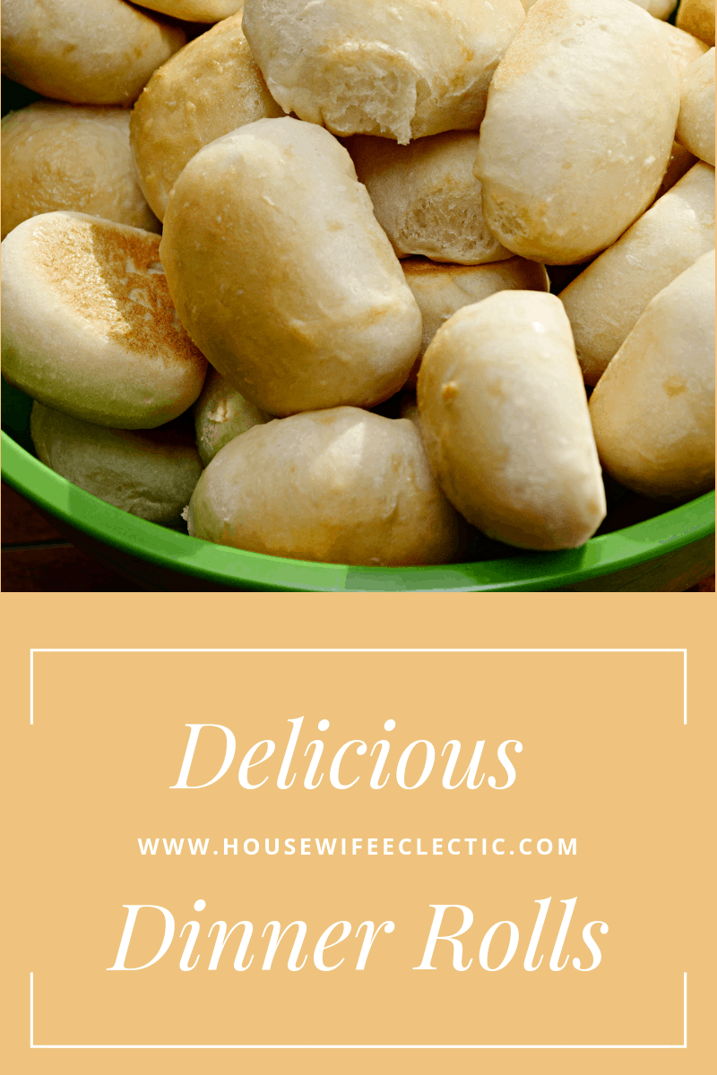 Housewife Eclectic : Dinner Rolls