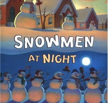 Christmas Book Activities- Snowmen At Night