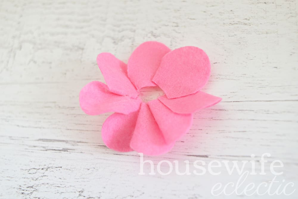 Simple and Easy Felt Flowers
