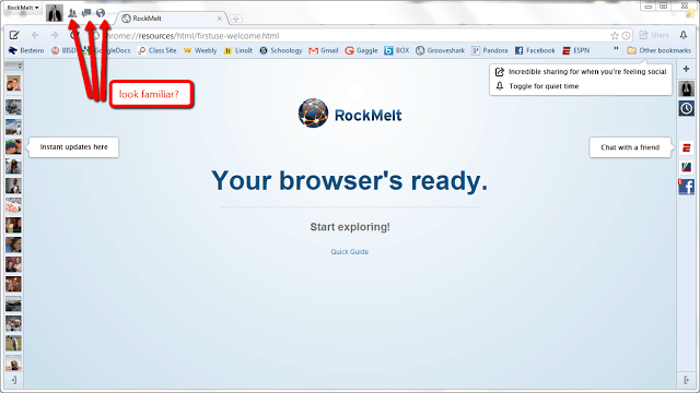 Rockmelt browser download for android
