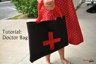 Tutorial: Felt Doctor Bag