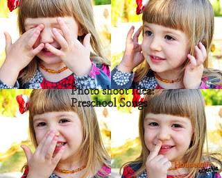 Photo Shoot Idea: Preschool Songs