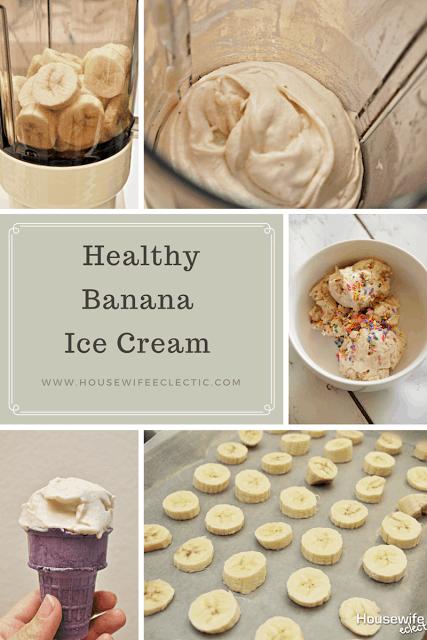 how to make banana ice cream healthy