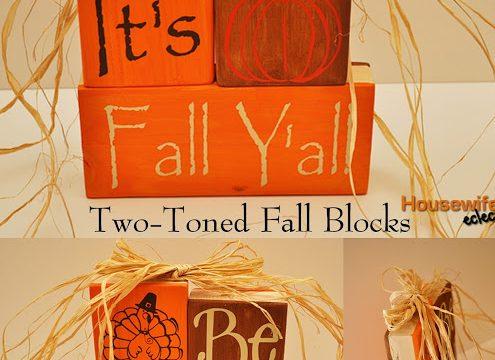 Double Sided Fall Blocks