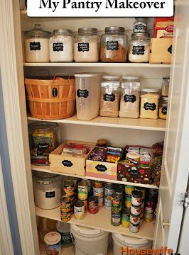 My Pantry Makeover