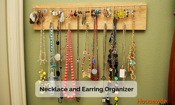 Necklace and Earring Organizer