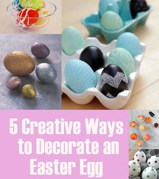 5 Creative Ways to Decorate an Easter Egg and Creative Linkup