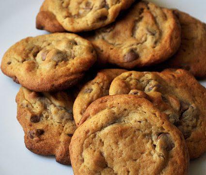 Less Sugar Chocolate Chip Cookies