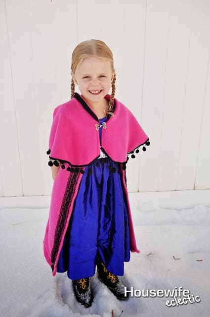 Frozen Costume, Anna Frozen Costume