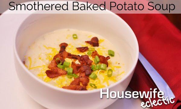 Smothered Baked Potato Soup