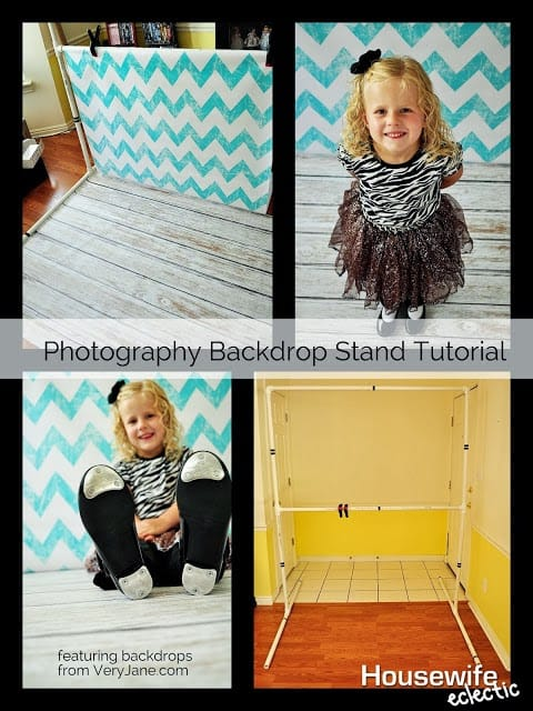 How to Build a Photo stand for backdrops