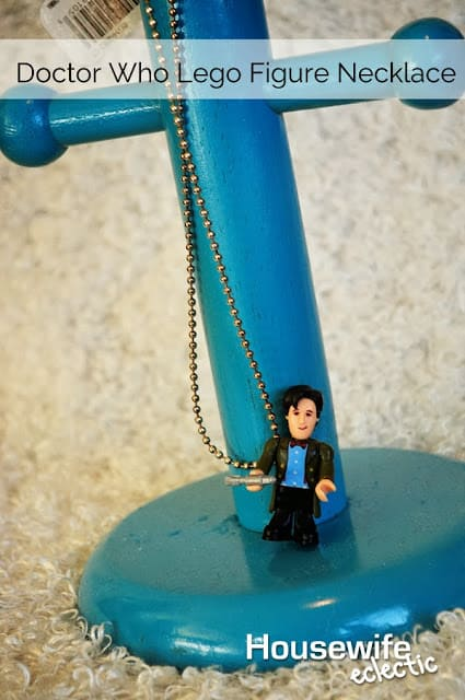 Housewife Eclectic: Doctor Who Lego Figure Necklace