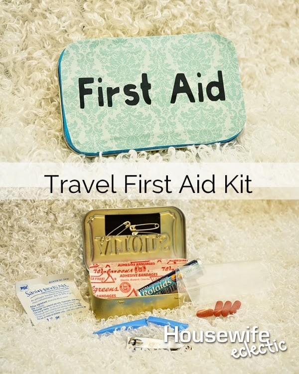 Travel First Aid Kits And Easy Medication Refills With