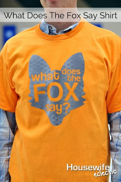 DIY What Does The Fox Say?