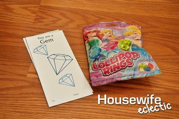 Housewife Eclectic: You Are A Gem Valentine with Free Printable