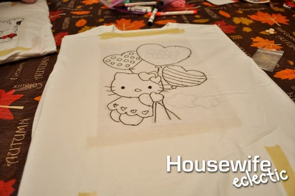 Housewife Eclectic: Coloring Book T-Shirts