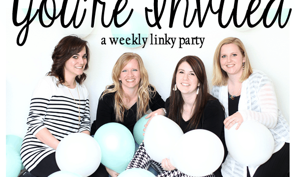 Smore's Cupcakes and Recovered Lampshades- You're Invited Link Up Party