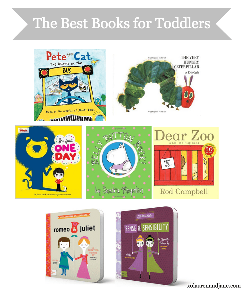 The Best Books For Toddlers With Jane From Xo From Lauren And Jane
