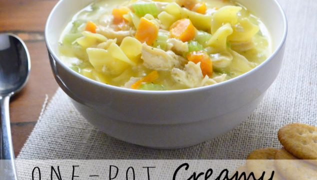 One-Pot Creamy Chicken Noodle Soup with Katelyn from Ambroisa & Nectar