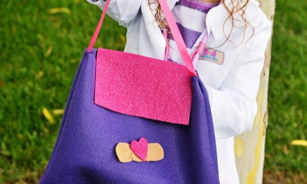 Doc McStuffins Costume Felt Doctor Bag