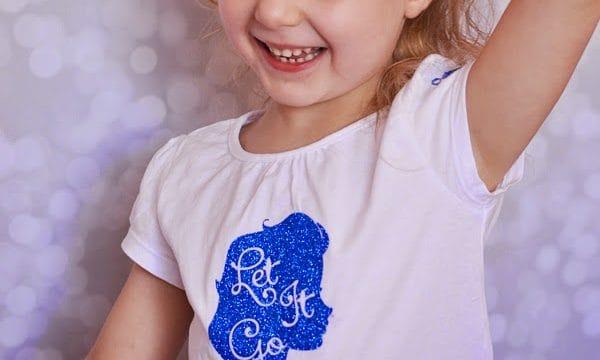 Glitter Elsa Shirt