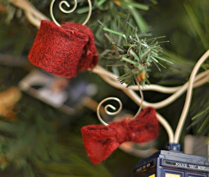 Easy Felt Doctor Who Ornaments or Charms