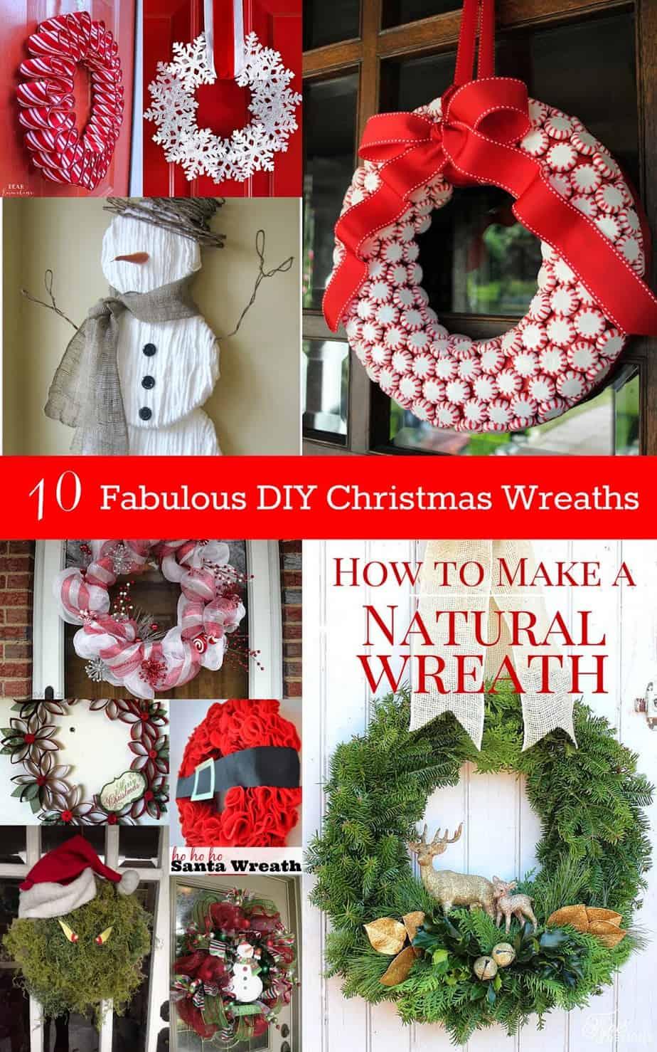 10 fabulous diy christmas wreaths housewife eclectic