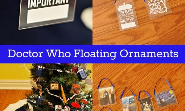 "Easy ""Floating"" Phrase or Photo Charm Ornaments"