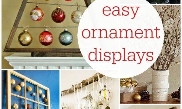 10 Creative Ornament Displays
