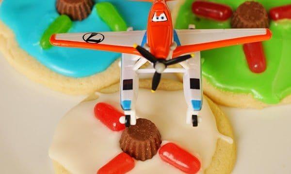 Planes Propeller Cookies