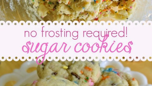The Best and Softest Sugar Cookies – No Frosting Required!
