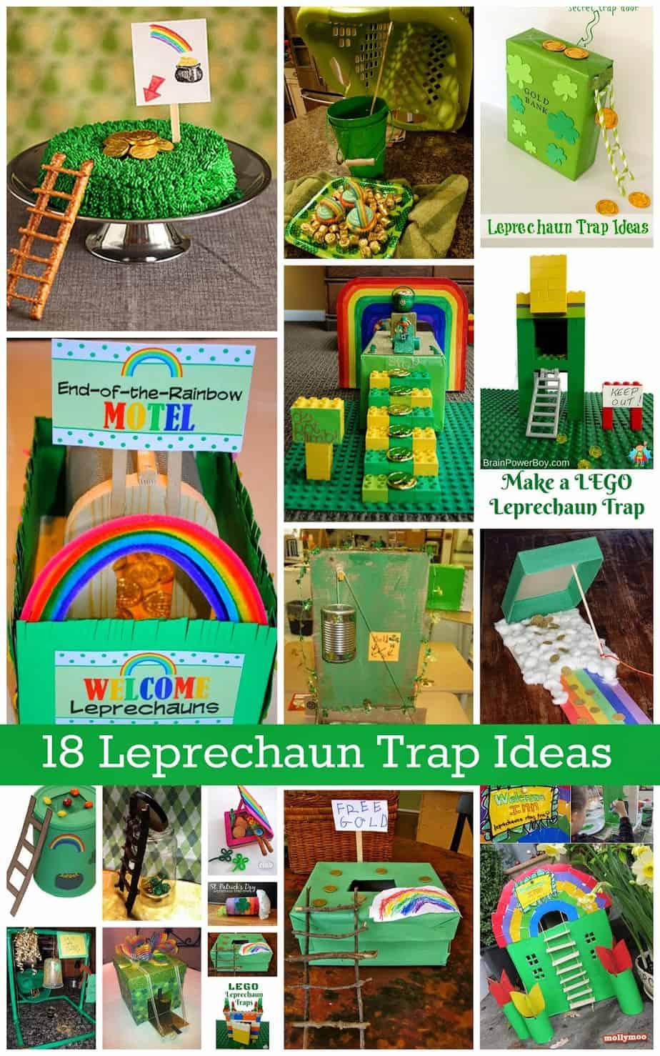 18 Leprechaun Trap Ideas Housewife Eclectic