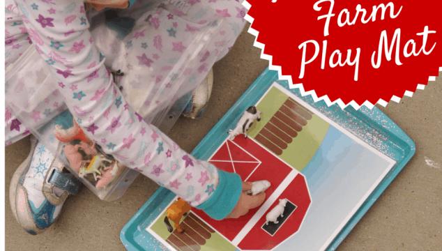 Printable Farm Play Mat