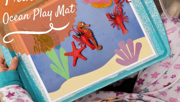 Printable Ocean Play Mat