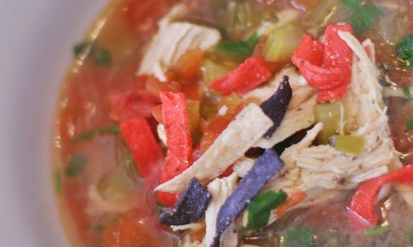 Chicken Lime Tortilla Soup
