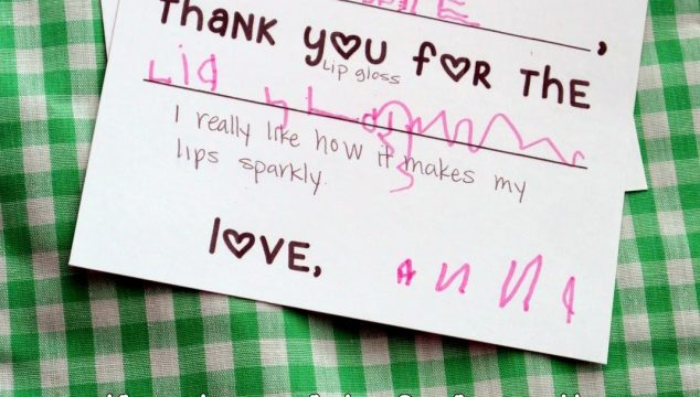 Free Printable Fill-in-the-Blank Thank You Card for Little Kids
