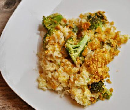 Homestyle Chicken and Broccoli Casserole