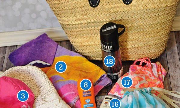 Summer Bag Essentials with a 15 Swim Suit Bag Tutorial