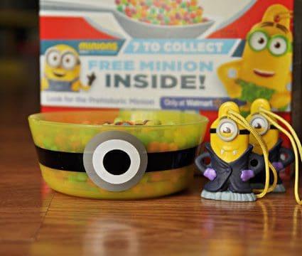 DIY Minion Cereal Bowl